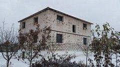 Строительство из газосиликатных блоков СтройСпецПартнер Двухэтажный дом в д. Королев Стан Минского района