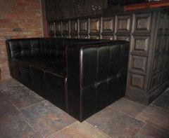 Мебель для баров, кафе и ресторанов Азиндор Диван 4