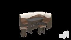 Кухонный уголок, диван ТриЯ Уют-2 ЛЮКС МФ-101.001