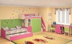 Детская комната Детская комната SoftForm Силуэт 06