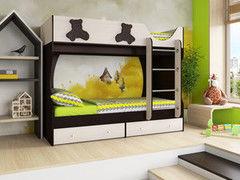 Двухъярусная кровать Артем-мебель СН-108.01 Мишутка