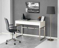 Письменный стол Halmar B-32 (белый/ хром)