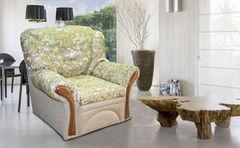 Кресло Кресло ZMF Дели (ткань+искусственная кожа)