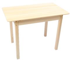 Мебель для бани и сауны Липа Стол без полки 1200x600x730