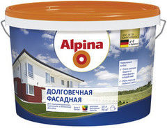 Краска Краска Alpina Долговечная фасадная База 1 (10 л)