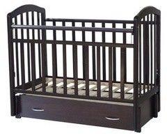 Детская кровать Кроватка Антел Алита-6 (венге)