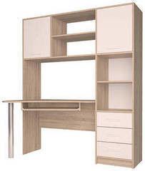 Письменный стол Интерлиния СК-011 Дуб сонома+Белый