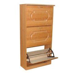 Тумба для обуви Кортекс-Мебель Тумба для обуви 648x1290x305