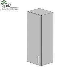 Кухонный шкаф Кухонный шкаф Диприз Шкаф верхний 30 Д 9001-1 (1 дверь)