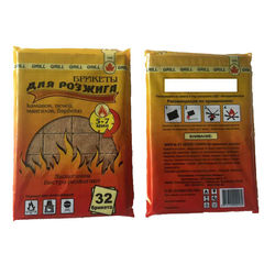 Топливо Брикеты для розжига (32 шт)
