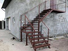 Металлическая лестница Белит Вариант 70