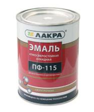 Эмаль Эмаль Лакра ПФ-115 желтая 2 кг