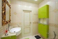 Зеленая мебель для ванной Мебель Холл Флессо