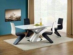 Обеденный стол Обеденный стол Halmar Sandor (белый)