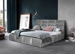 Кровать Кровать ZMF Елена (сп. место180х200см., серый)