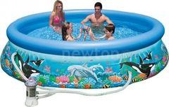 Бассейн Бассейн Intex Надувной бассейн  Intex Ocean Reef Easy Set 305x76 54902/28126