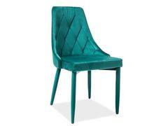 Кухонный стул Signal Trix Velvet (зеленый)