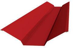 Комплектующие для кровли МеталлПрофиль Планка ендовы верхняя (76х76х2000)