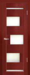 Межкомнатная дверь Межкомнатная дверь из массива Юркас Модена ДО (махагон)