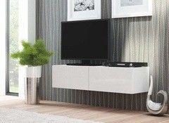 Подставка под телевизор Halmar Livo RTV-160W  (белый)