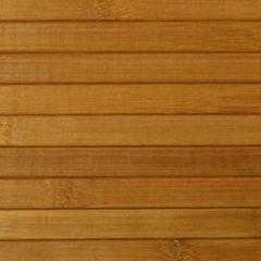 Декоративная стеновая панель Декоративная стеновая панель Бамбуковый рай Коньяк глянец (ламель 17 мм)