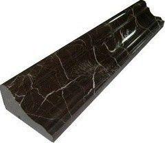 Плитка из камня A&B Stone Бордюр Brown Gold 30.5x6 HM305-SR1-039