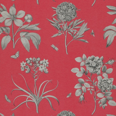 Обои Sanderson Parchment Flowers (W)