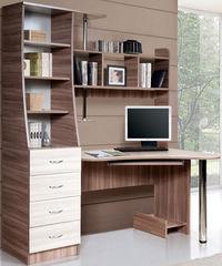 Письменный стол Стол компьютерный Мебель-Класс Символ левый (ясень шимо светлый/ясень шимо темный)