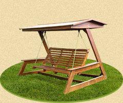 Садовые качели Садовые качели PlayComplex Вариант 1