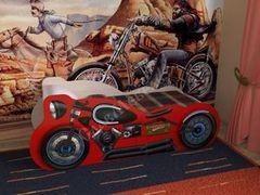 Детская кровать Детская кровать СлавМебель Мотоцикл