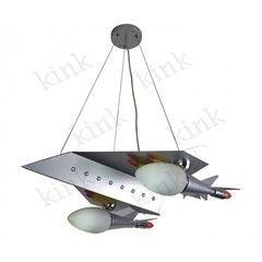 Детский светильник Kinklight 07432 Истребитель