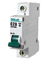 DEKraft Автоматический выключатель ВА101-1P-020A-C (11055DEK)