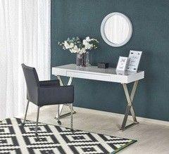 Письменный стол Halmar B-31 (белый/ хром)