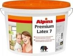 Краска Краска Alpina Premiumlatex 7, 10л База 1