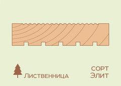 Террасная доска Лиственница 27*143, сорт Elite (STT 1/3)