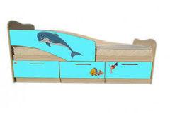 Детская кровать Детская кровать Андрия Дельфин 80х180