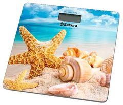 Напольные весы Напольные весы Sakura SA-5065BH пляж