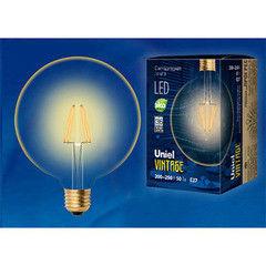 Лампа Лампа Uniel LED-G125-8W/GLV21GO