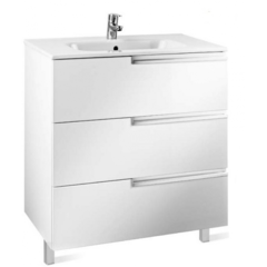 Мебель для ванной комнаты Roca Тумба Victoria Nord Ice Edition 60 см (ZRU9302834) белая