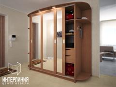 Шкаф-купе Шкаф-купе Интерлиния Андора АН-002-17-03