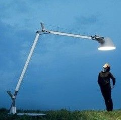 Уличное освещение Artemide Tolomeo XXL with base - Fluo 1532010A
