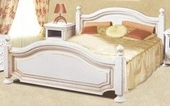 Кровать Кровать Гомельдрев Босфор ГМ 6233 (слоновая кость/патинирование)