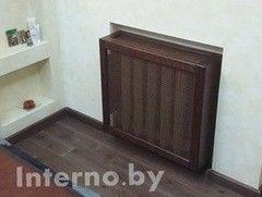 Экран для радиаторов Interno.by МДФ шпонированный 2