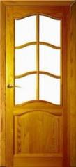 Межкомнатная дверь Межкомнатная дверь Поставский мебельный центр ДО 7 Светлый лак