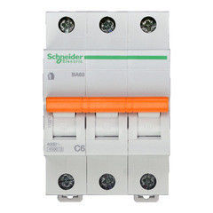 Schneider Electric Автоматический выключатель Домовой ВА63 3П 6A C 4,5 кА 11221