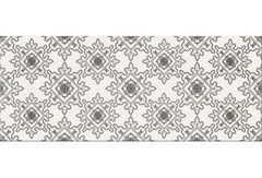 Плитка Плитка Opoczno Black & White pattern e 20x50