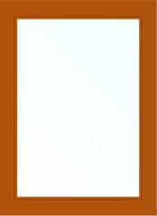 Деревянное окно Дуб 800*1200, 1с, Г