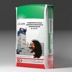 Сухая кладочная смесь Сухая кладочная смесь КрасносельскСтройматериалы № 123/33 цементно-известковый универсальный
