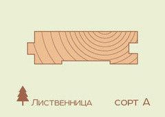 Доска пола Доска пола Лиственница 35*118мм, сорт A