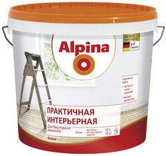 Краска Краска Alpina Практичная интерьерная 10 л